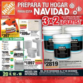 The home depot villahermosa ofertas y horarios for Home depot sucursales